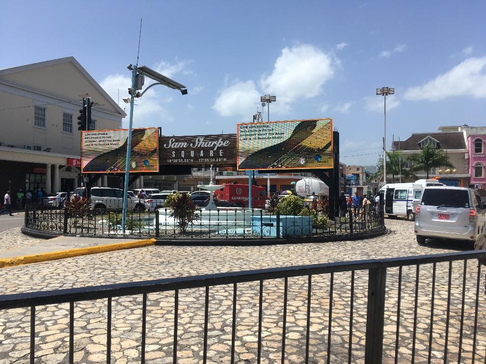 Jamaica - Sam Sharpe Square